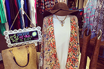 Spend a sunny afternoon shopping in boutiques after lunching in a downtown cafe.