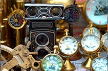 Uncover a diamond in the rough or a childhood memory in any of several antique shops.