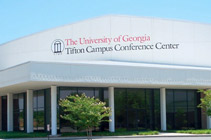 Attend career training or your company's business conference at a high-tech meeting facility.